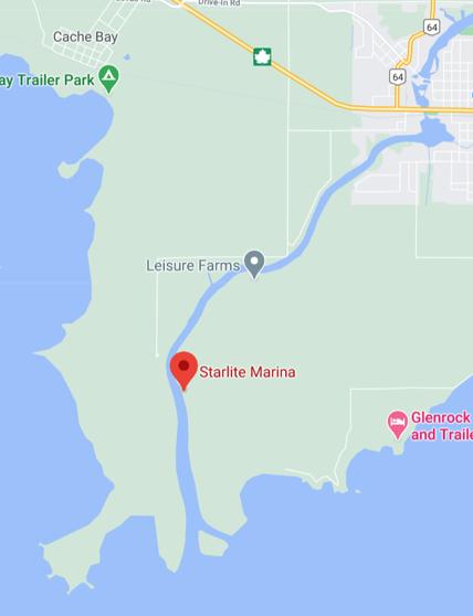 Starlite Location Map